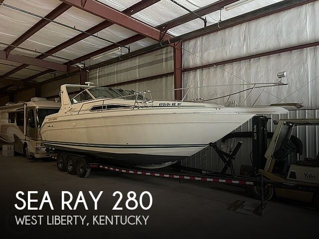 1990 Sea Ray 280 Sundancer