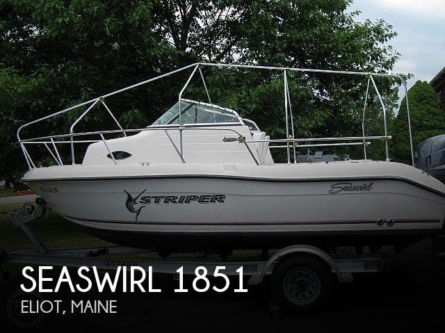 2007 Seaswirl Striper 1851WA