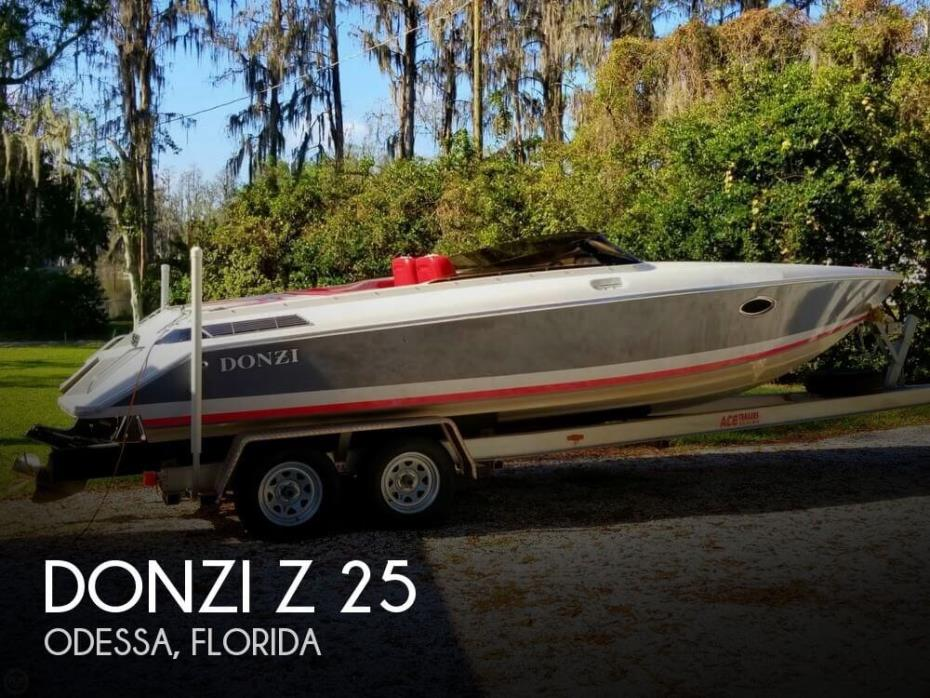 1986 Donzi Z 25