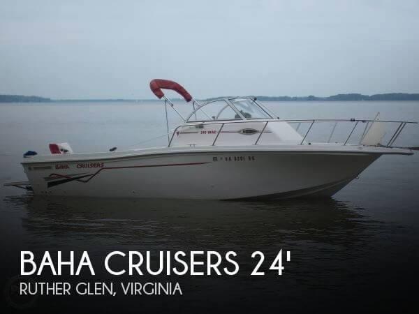 1998 Baha Cruisers 240 WAC