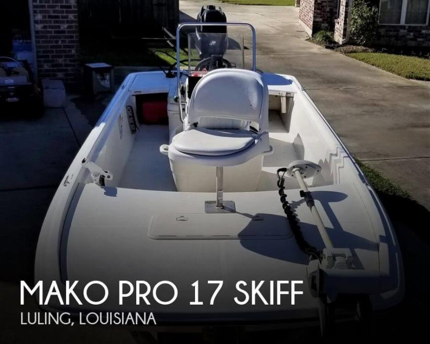 2012 Mako Pro 17 Skiff
