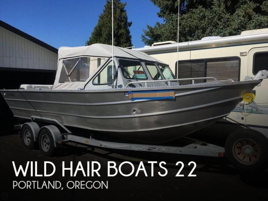 2002 Wild Hair Boats 22
