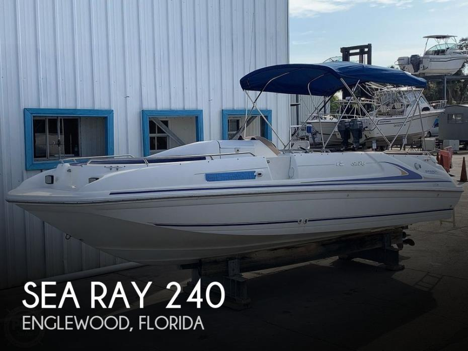 1996 Sea Ray 240 Sun Deck