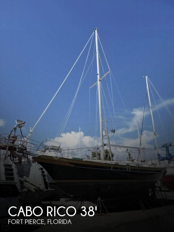 1985 Cabo Rico 38' Cutter Rig