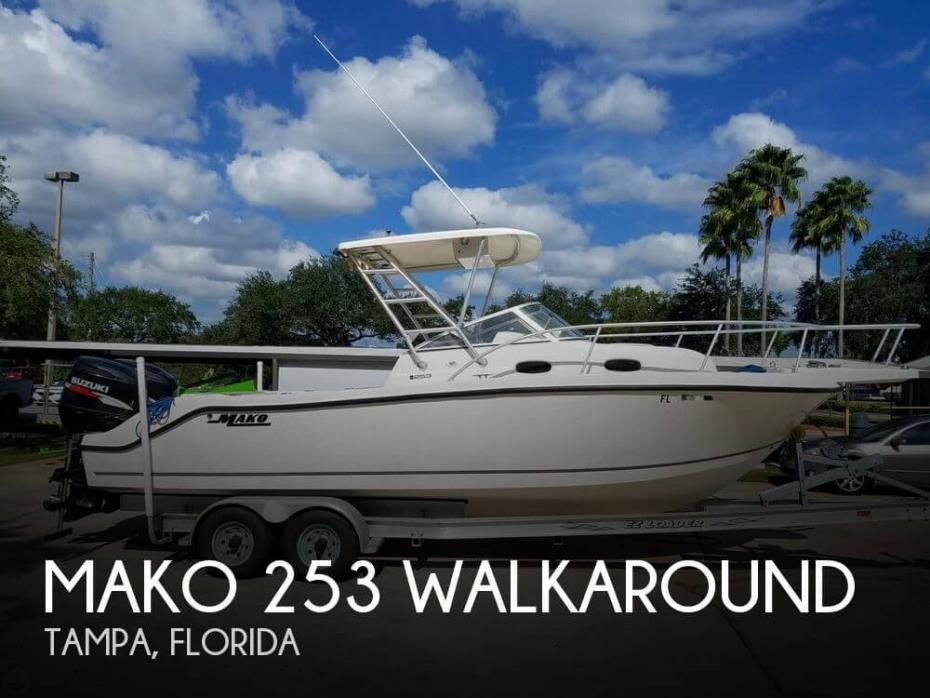 2006 Mako 253 Walkaround