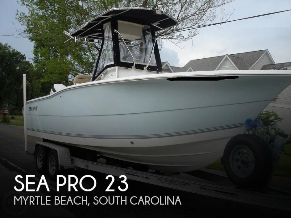 2006 Sea Pro 238 CC
