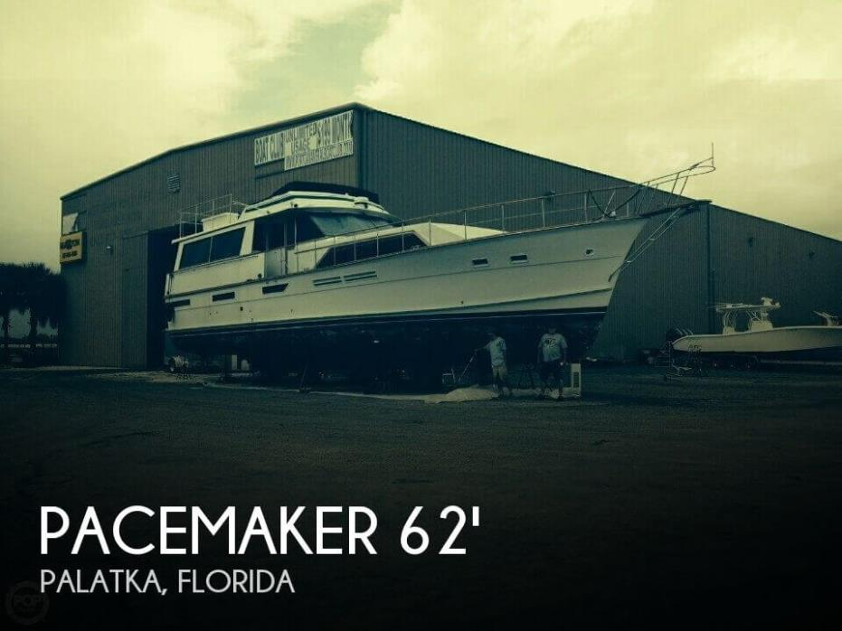 1976 Pacemaker 62 Motor Yacht