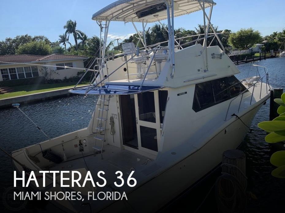 1985 Hatteras 36 Convertible