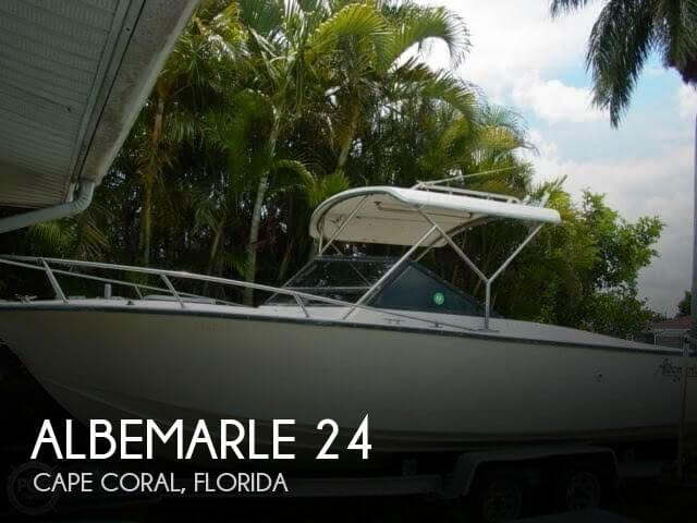 1989 Albemarle 24