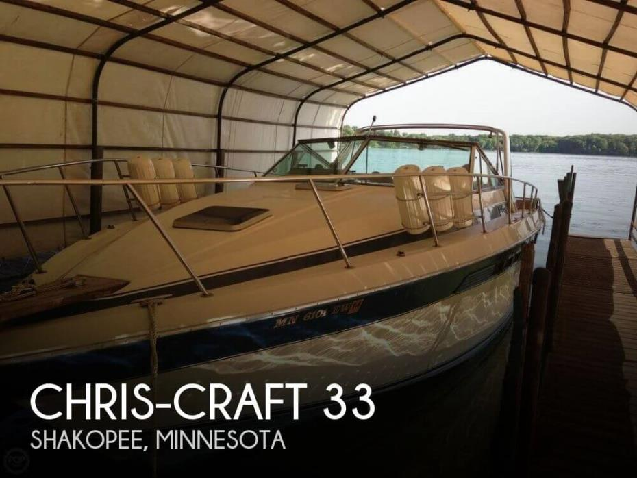 1985 Chris-Craft Commander 332