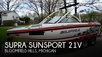 2010 Supra Sunsport 21V