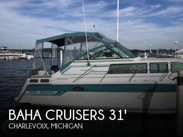 1989 Baha Cruisers 310 Express
