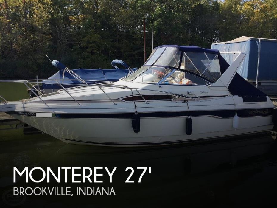 1996 Monterey 276 Cruiser