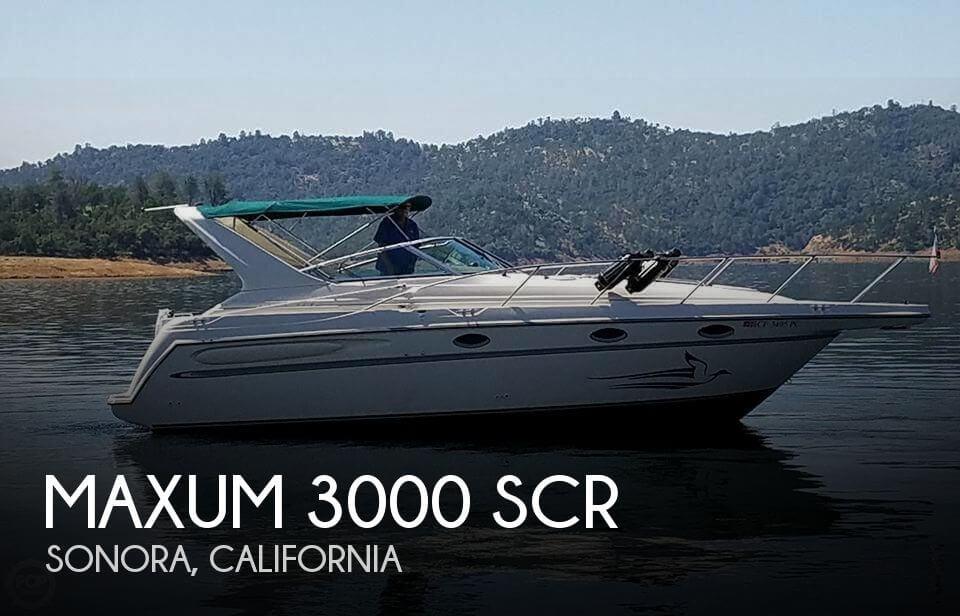 1997 Maxum 3000 SCR
