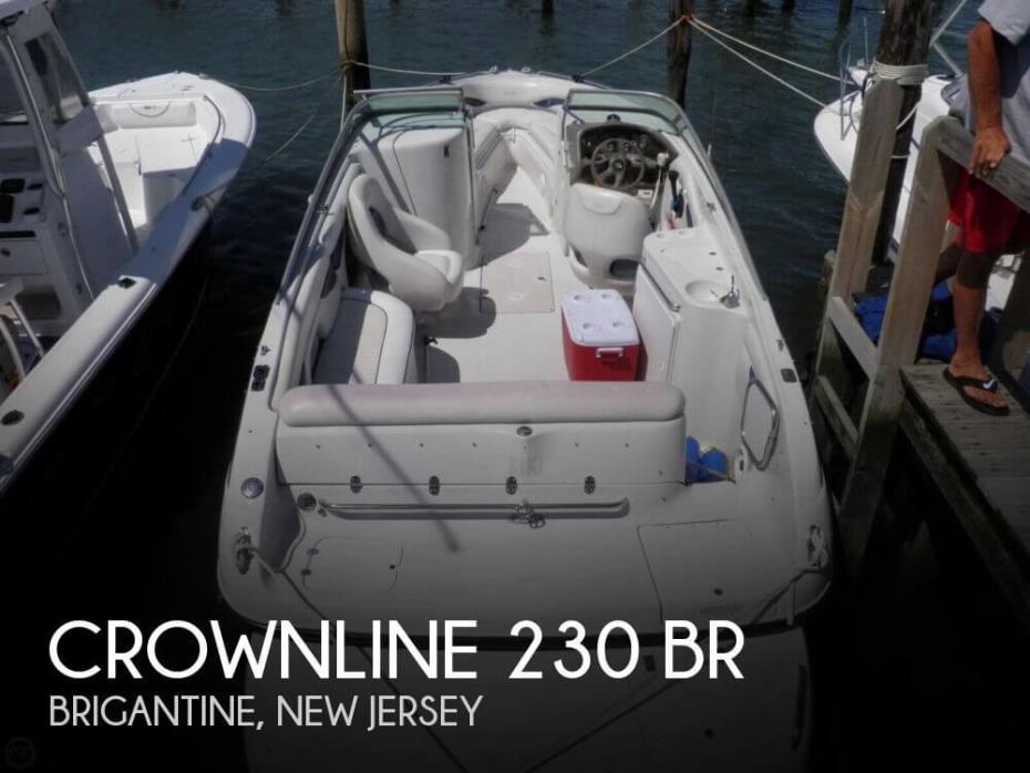 2002 Crownline 230 BR