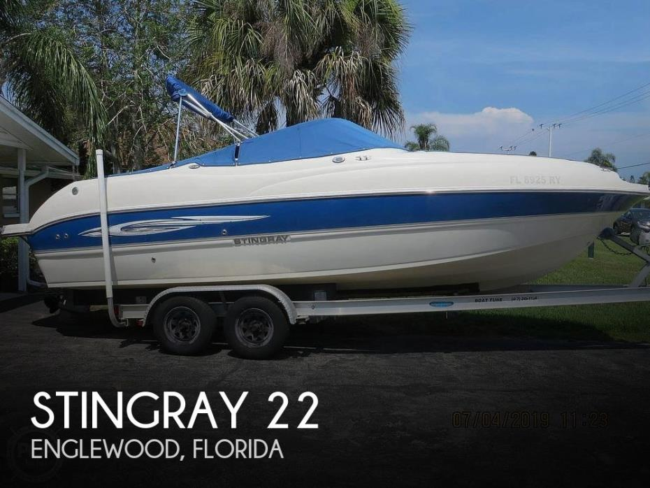 2007 Stingray 220 DR