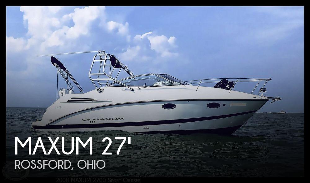 2008 Maxum 2700 Sport Cruiser
