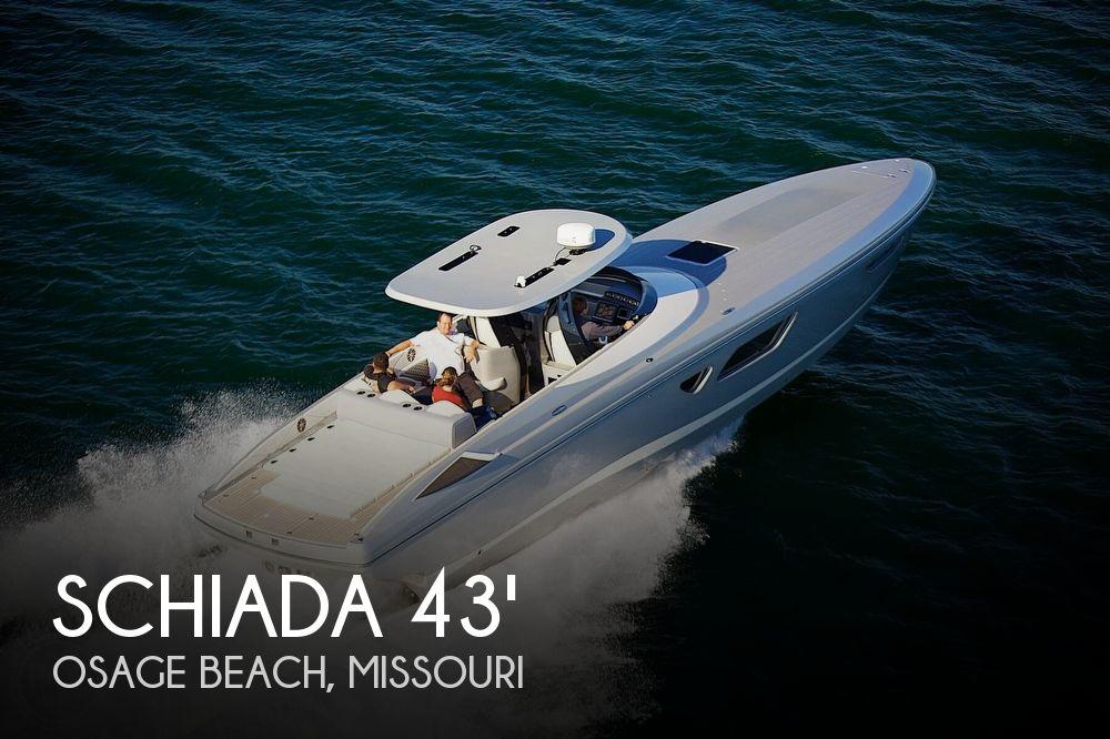 2017 Schiada 43 Super Cruiser