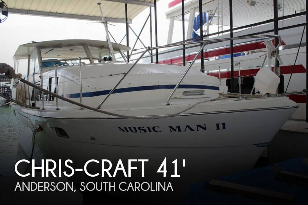 1972 Chris-Craft 41 Commander