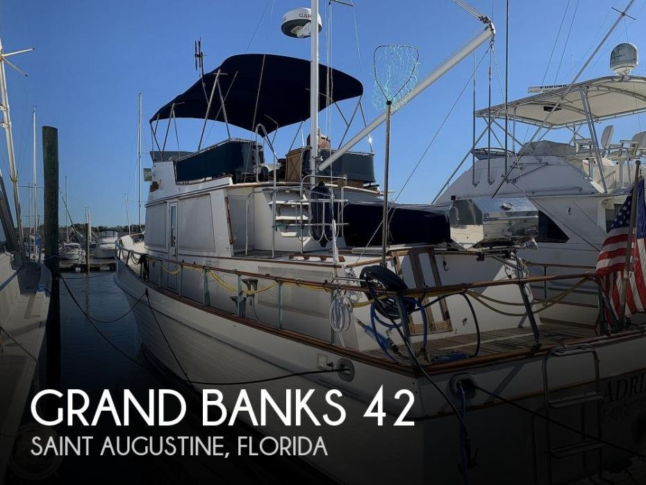 1980 Grand Banks 42 classic trawler
