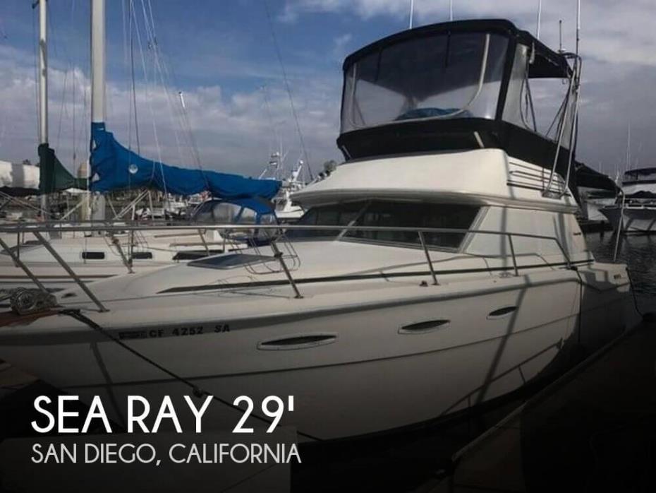 1984 Sea Ray SRV300 Sedan Bridge