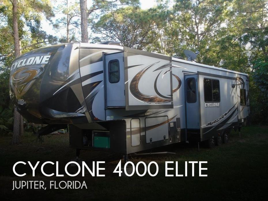 2015 Heartland Cyclone 4000 Elite