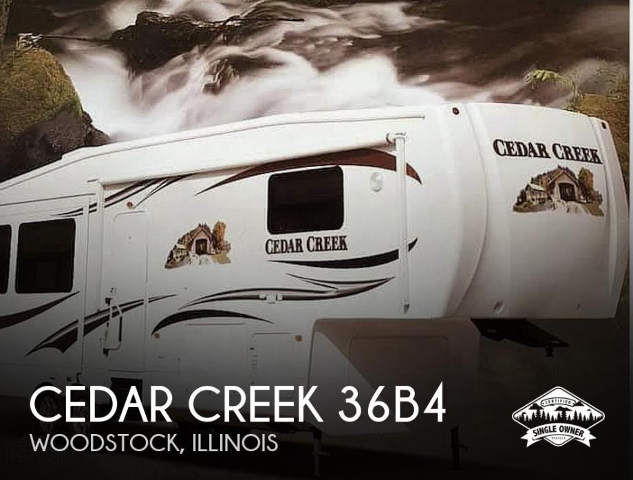 2012 Forest River Cedar Creek 36B4