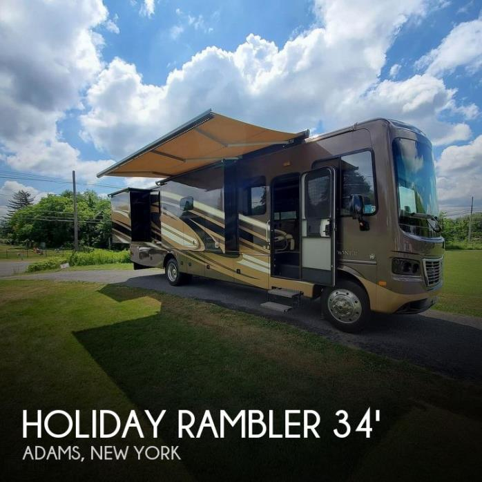 2016 Holiday Rambler Vacationer 34ST