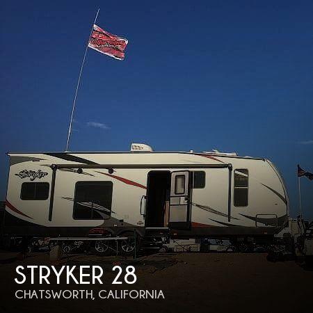2016 Cruiser RV Stryker ST-2812