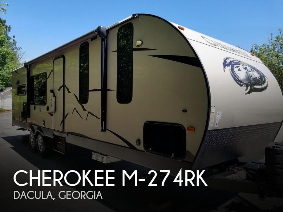 2017 Forest River Cherokee 274RK Limited