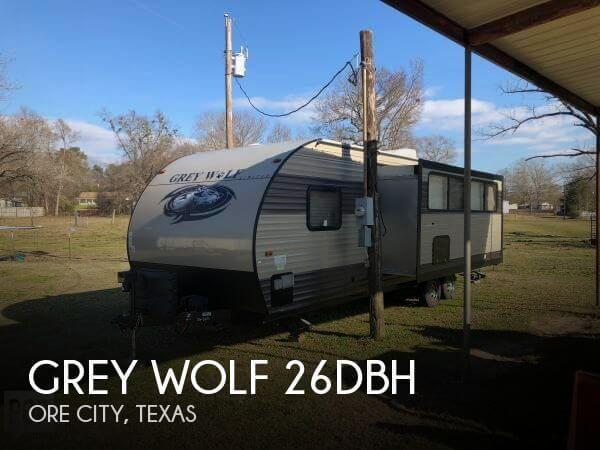 2017 Forest River Grey Wolf 26DBH