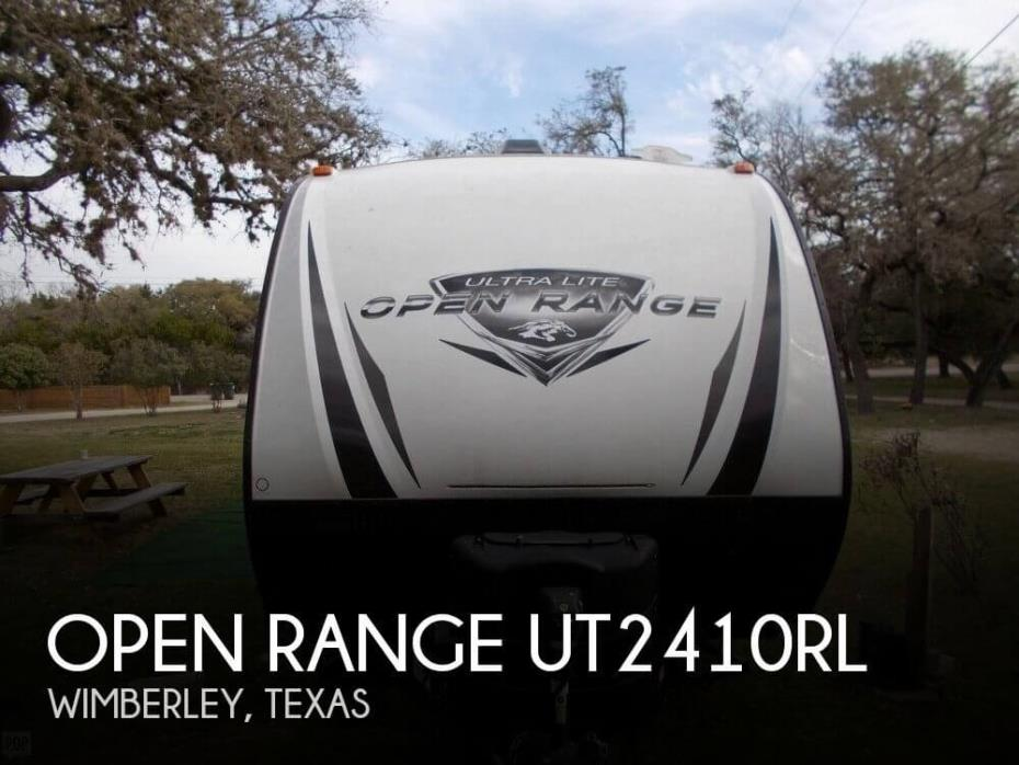 2018 Highland Ridge Open Range UT2410RL