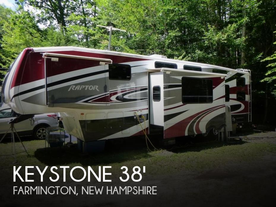 2010 Keystone Raptor 3812TS
