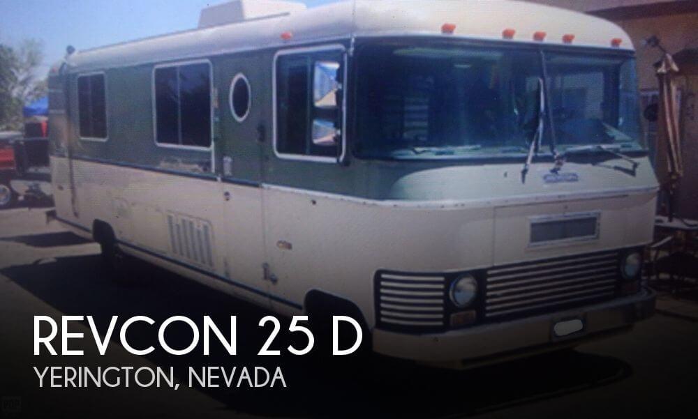 1972 Revcon 25 D