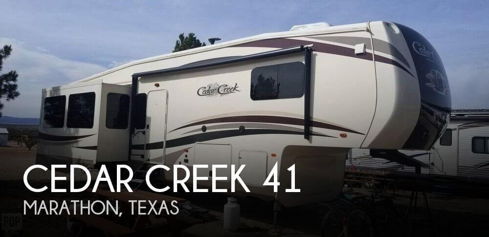 2017 Forest River Cedar Creek Hathaway M-36CK2