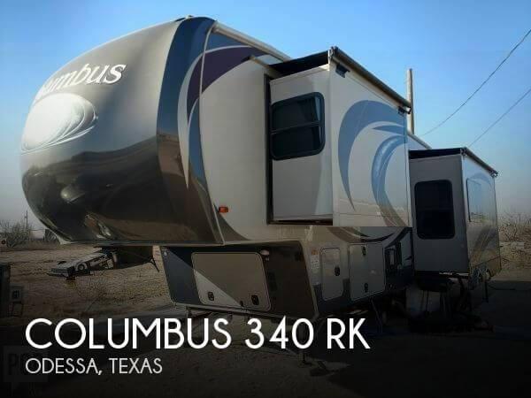 2016 Palomino Columbus 340 RK