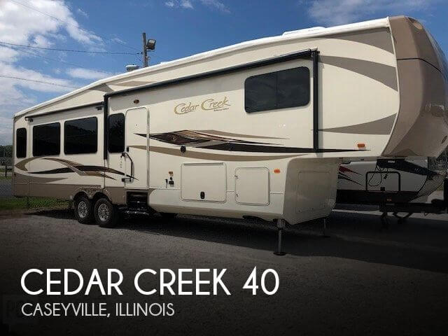2016 Forest River Cedar Creek 40