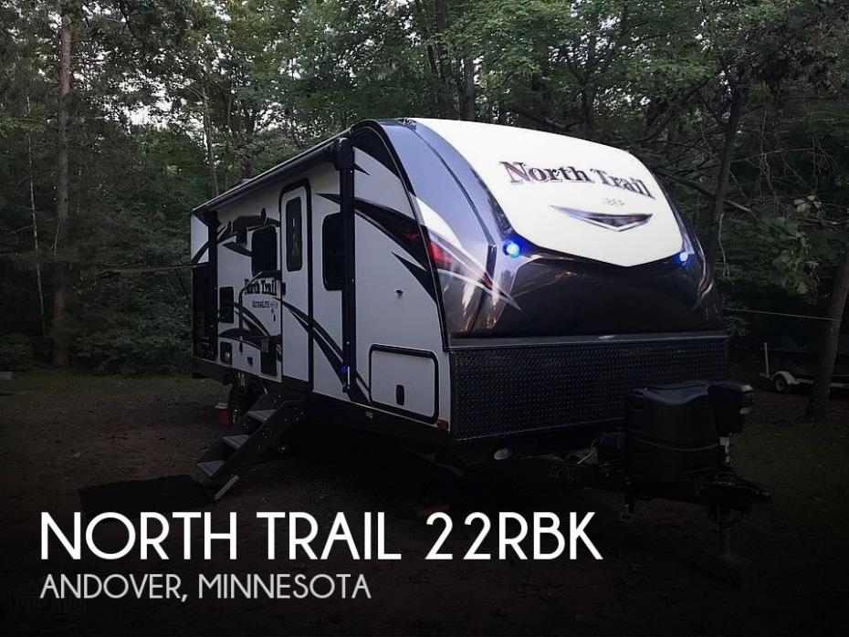 2018 Heartland North Trail 22RBK