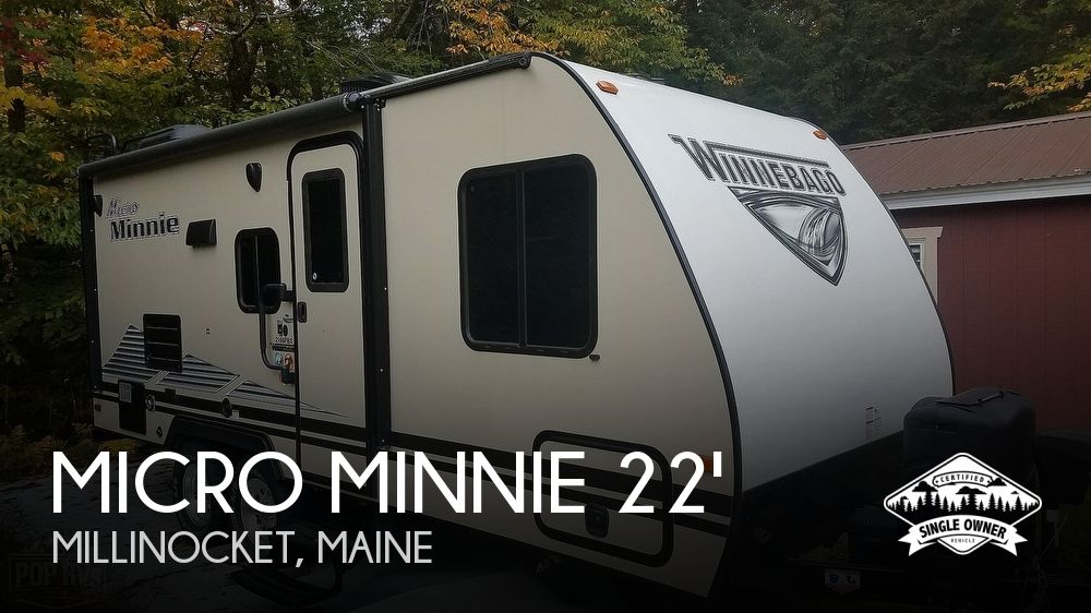 2019 Winnebago Micro Minnie 2108 FBS