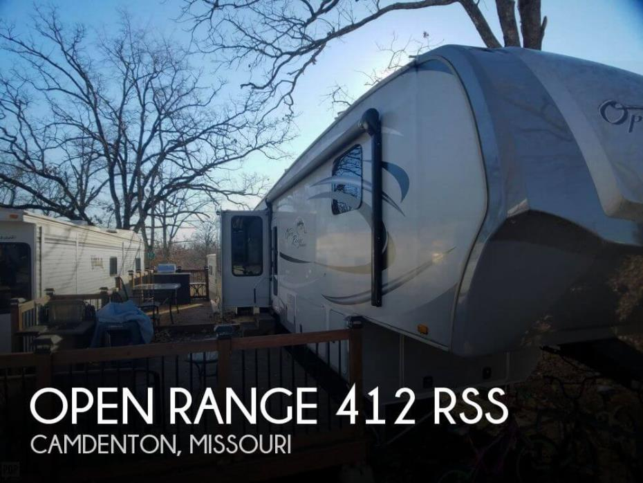 2012 Highland Ridge Open Range 412 RSS