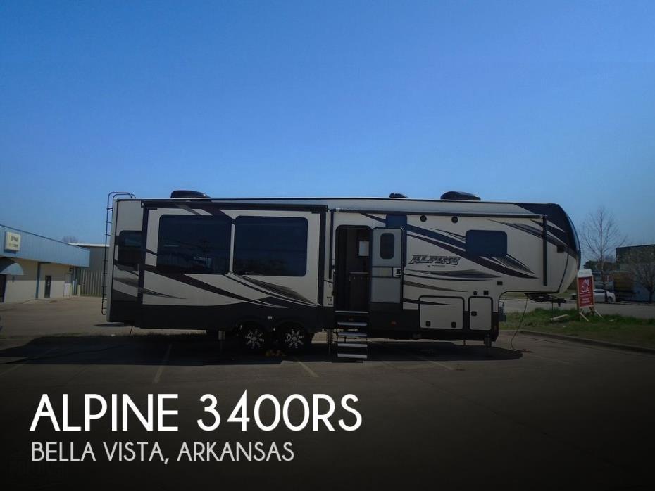 2017 Keystone Alpine 3400RS