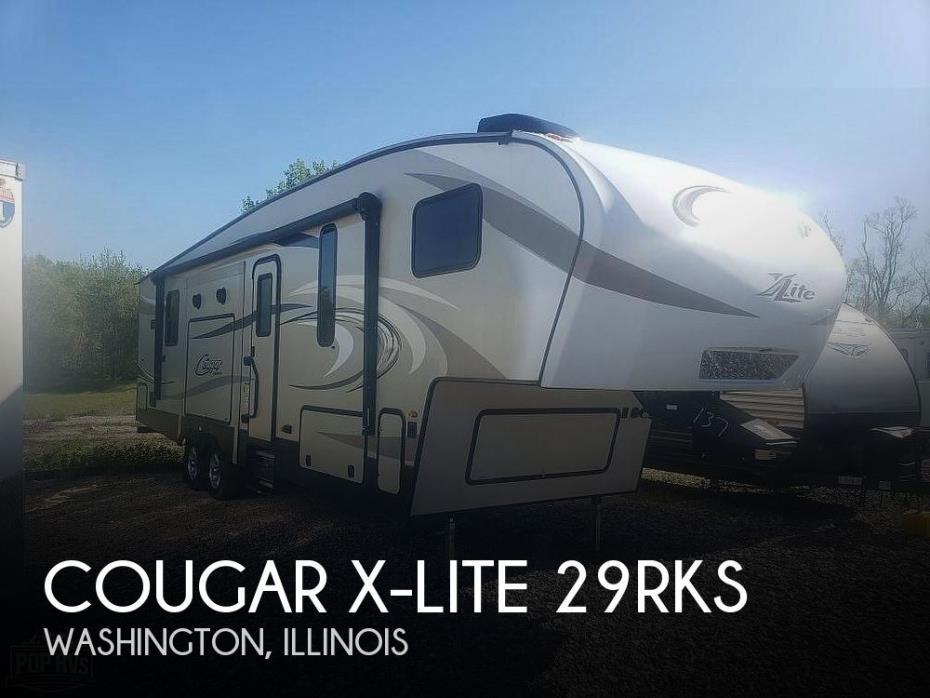 2018 Keystone Cougar X-Lite 29RKS