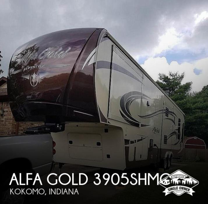 2015 Lifestyle Luxury RV Alfa Gold 3905SHMC
