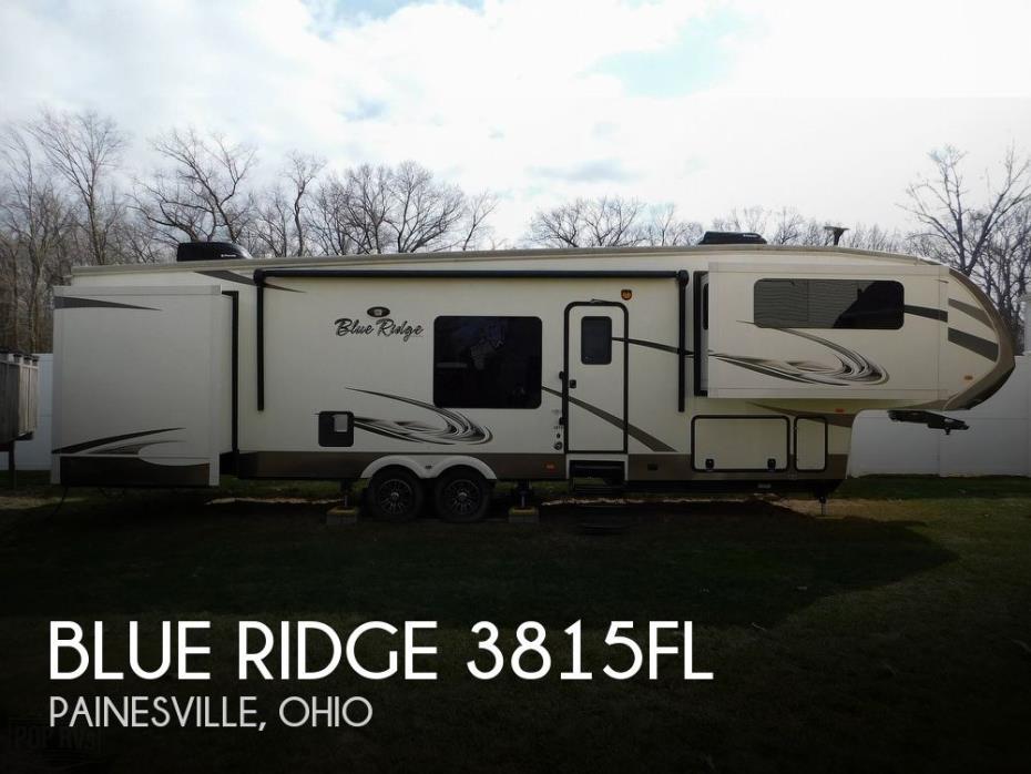 2015 Forest River Blue Ridge 3815FL