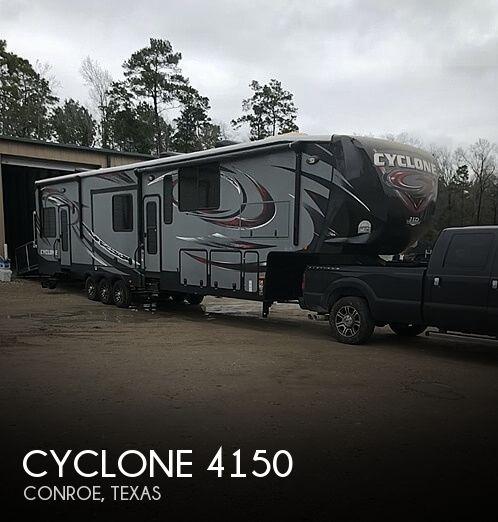 2014 Heartland Cyclone 4150