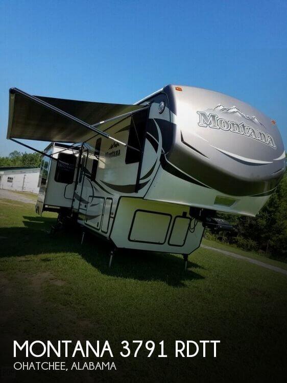 2015 Keystone Montana 3791 RDTT