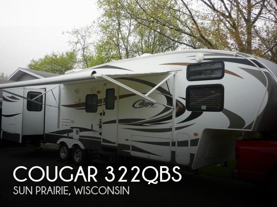 2012 Keystone Cougar 322QBS