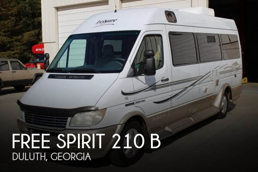 2006 Leisure Travel Free Spirit 210 B