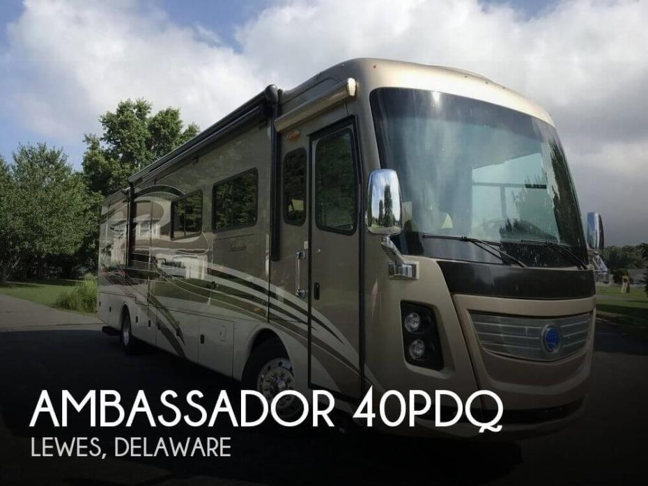 2013 Holiday Rambler Ambassador 40PDQ