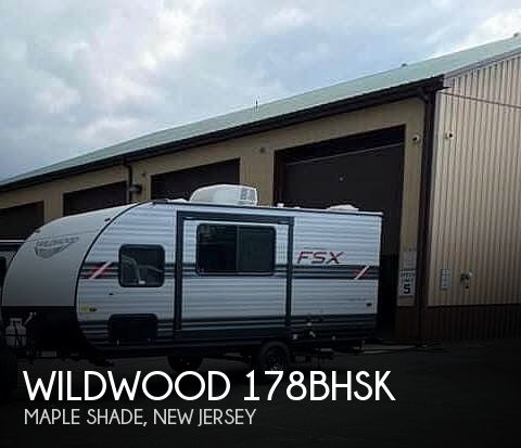 2021 Forest River Wildwood 178BHSK